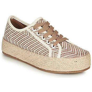 鞋子 女士 帆布便鞋 André PEN 米色