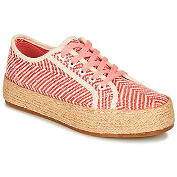 鞋子 女士 帆布便鞋 André PEN 橙色