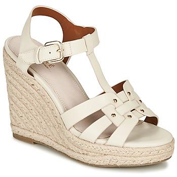鞋子 女士 凉鞋 André PERLINE 白色