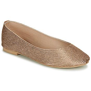 鞋子 女士 平底鞋 André PAPAYA 金色