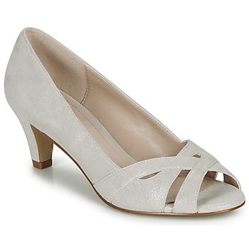 鞋子 女士 高跟鞋 André JELENA 银灰色