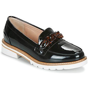 鞋子 女士 皮便鞋 André EMA 黑色