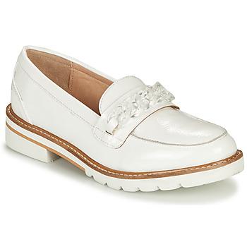 鞋子 女士 皮便鞋 André EMA 白色