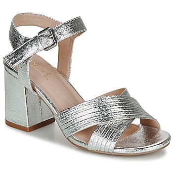 鞋子 女士 凉鞋 André JACYNTH 银灰色