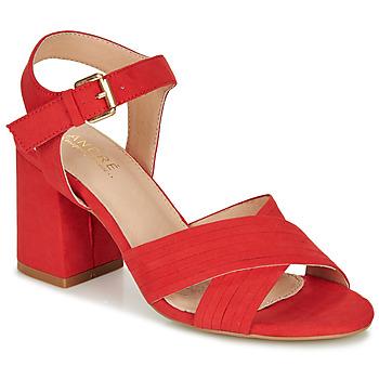鞋子 女士 凉鞋 André JACYNTH 红色
