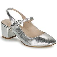 鞋子 女士 平底鞋 André JONNA 银灰色