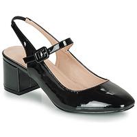 鞋子 女士 平底鞋 André JONNA 黑色 / 漆皮