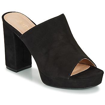 鞋子 女士 凉鞋 André MELINDA 黑色