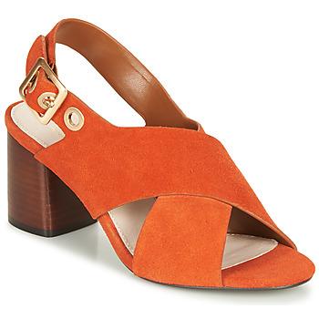 鞋子 女士 凉鞋 André JANNINE 橙色