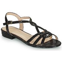 鞋子 女士 凉鞋 André JONETTE 黑色