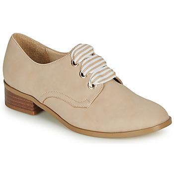 鞋子 女士 德比 André MONTSERRAT 米色