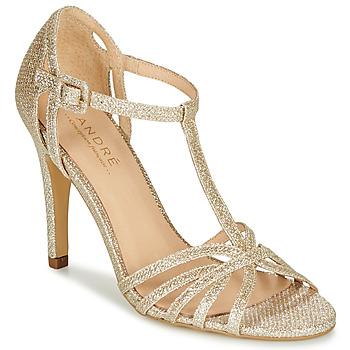 鞋子 女士 高跟鞋 André JOY 金色