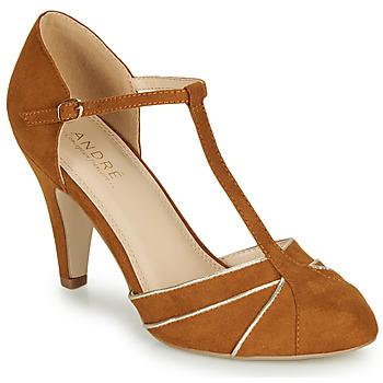 鞋子 女士 高跟鞋 André JULIETTE 驼色