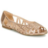 鞋子 女士 平底鞋 André PRISCILA 金色