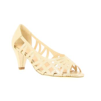 鞋子 女士 高跟鞋 André PRISCA 金色