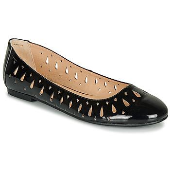 鞋子 女士 平底鞋 André JENNY 黑色 / 漆皮