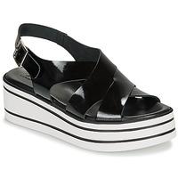 鞋子 女士 凉鞋 André ELVIA 黑色