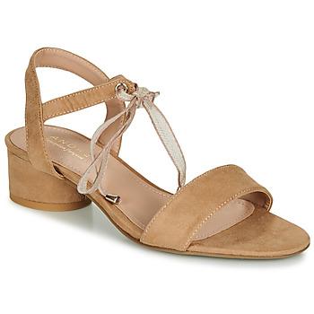 鞋子 女士 凉鞋 André PAULENE 米色