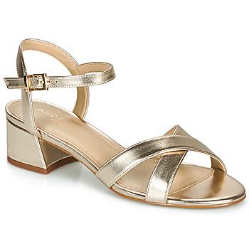 鞋子 女士 凉鞋 André VICTORIA 金色
