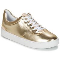 鞋子 女士 球鞋基本款 André VIORNE 金色