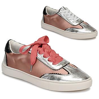 鞋子 女士 球鞋基本款 André LA VOLTIGEUSE 玫瑰色