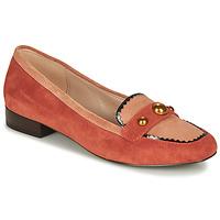 鞋子 女士 皮便鞋 André L ACROBATE 玫瑰色