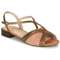 鞋子 女士 凉鞋 André LA TRAPEZISTE 玫瑰色