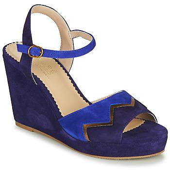 鞋子 女士 凉鞋 André LA JONGLEUSE 蓝色