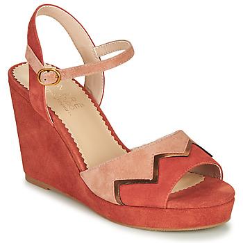 鞋子 女士 凉鞋 André LA JONGLEUSE 玫瑰色