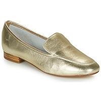 鞋子 女士 皮便鞋 André JAELLE 金色