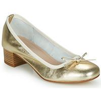 鞋子 女士 平底鞋 André POEME 金色