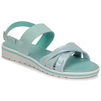 鞋子 女士 凉鞋 André POLINE 蓝色