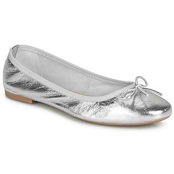 鞋子 女士 平底鞋 André PIETRA 银灰色