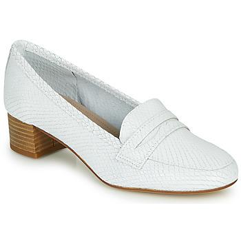 鞋子 女士 皮便鞋 André MICHELLE 白色