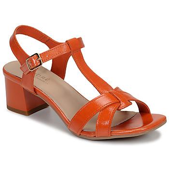 鞋子 女士 凉鞋 André JOSEPHINE 橙色