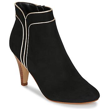 鞋子 女士 短靴 André JUNO 黑色