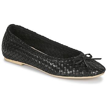 鞋子 女士 平底鞋 André BERNY 黑色