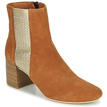 鞋子 女士 短靴 André BONNIE 驼色