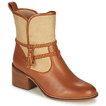 鞋子 女士 短靴 André BROOK 驼色