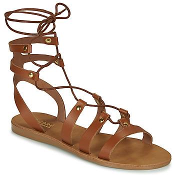 鞋子 女士 凉鞋 André BEA 驼色
