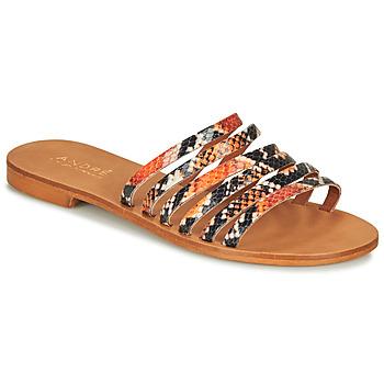 鞋子 女士 涼鞋 André BRAIDINE 橙色