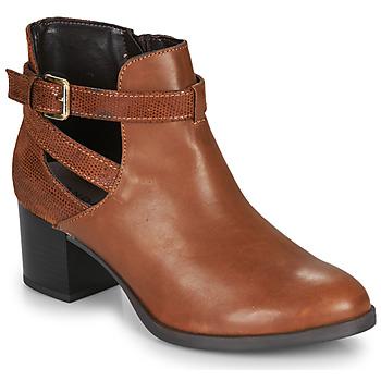 鞋子 女士 短靴 André BETIANA 驼色
