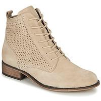 鞋子 女士 短筒靴 André GODILLINE 米色