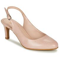 鞋子 女士 高跟鞋 André POMARETTE 裸色