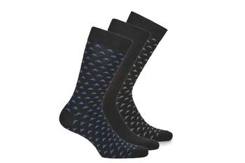 纺织配件 男士 短筒袜 André MATT 黑色