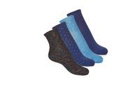 纺织配件 女士 短筒袜 André SHINE 海蓝色