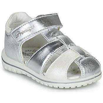 鞋子 女孩 涼鞋 Primigi  銀灰色