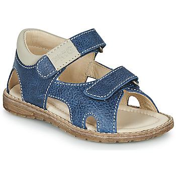 鞋子 男孩 凉鞋 Primigi 5410222 蓝色 / 灰色
