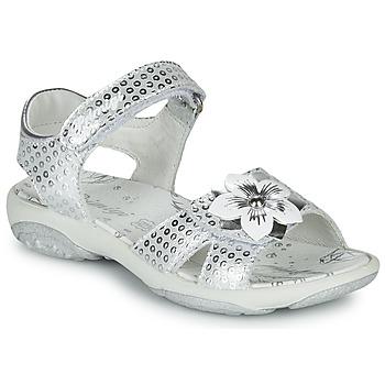 鞋子 女孩 凉鞋 Primigi 5383533 银灰色