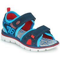 鞋子 男孩 凉鞋 Primigi 5392822 海蓝色 / 蓝色 / 红色